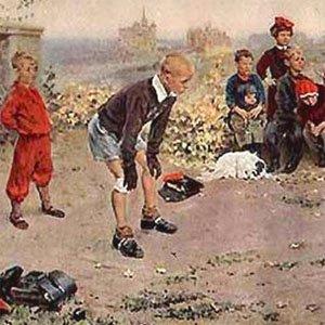 картина Григорьева «Вратарь»