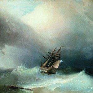 Картина Айвазовского Буря