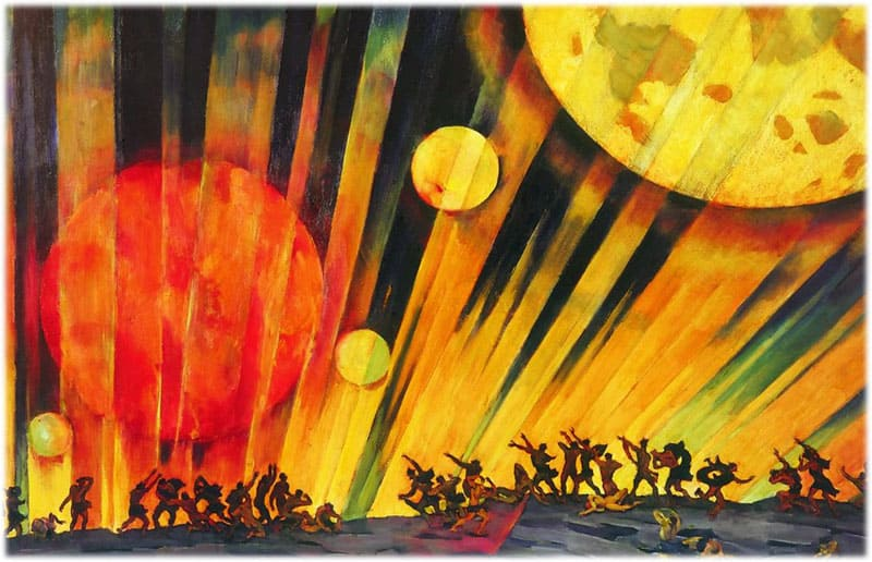 Картина Юона Новая планета