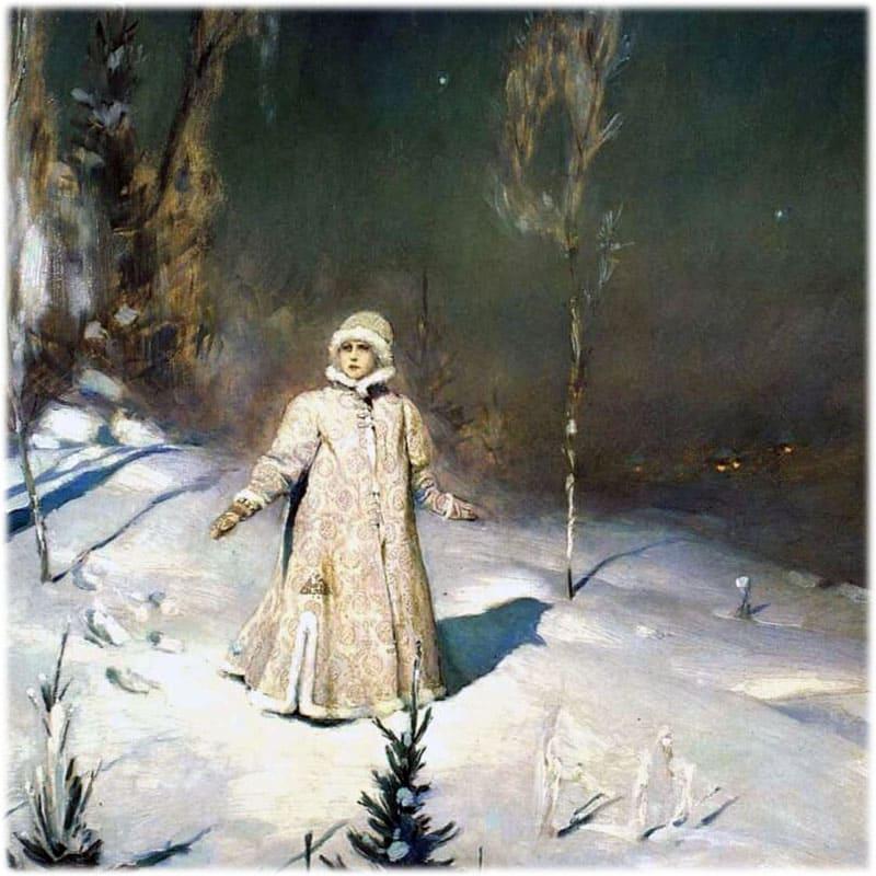 Картина Васнецова Снегурочка