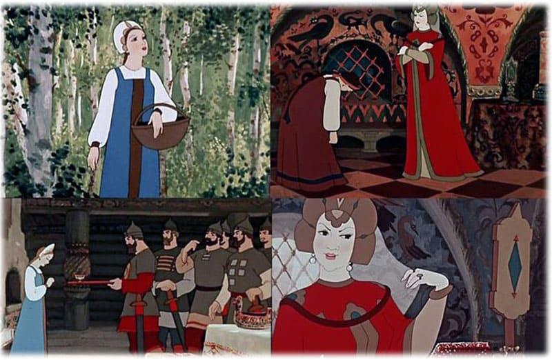 Царица и царевна в сказке