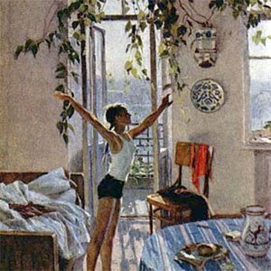 Картина Яблонской Утро