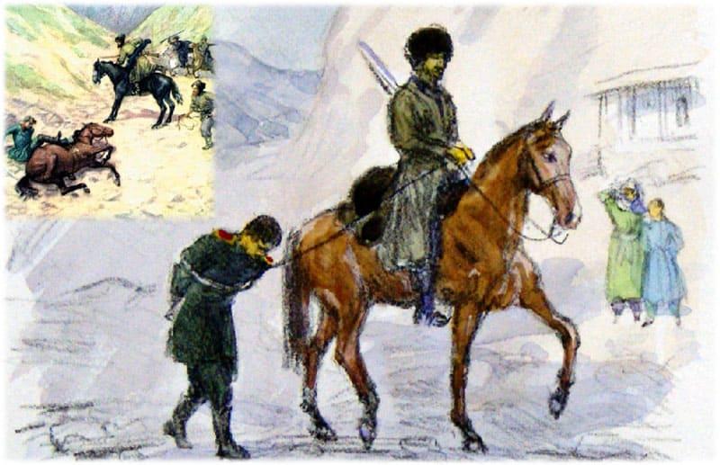 Кавказский пленник сочинение