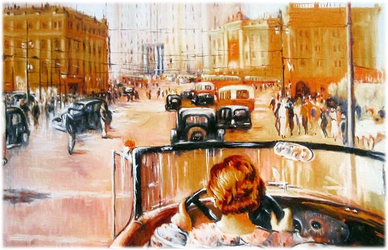 Картина Новая Москва