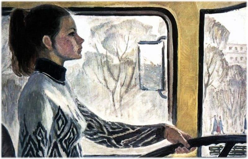 Картина Водитель Валя