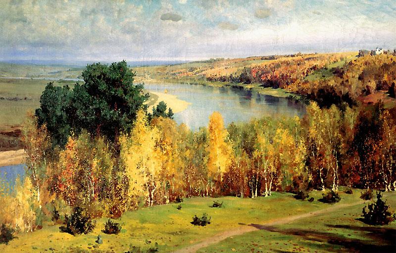 Описание картины Золотая осень Поленова