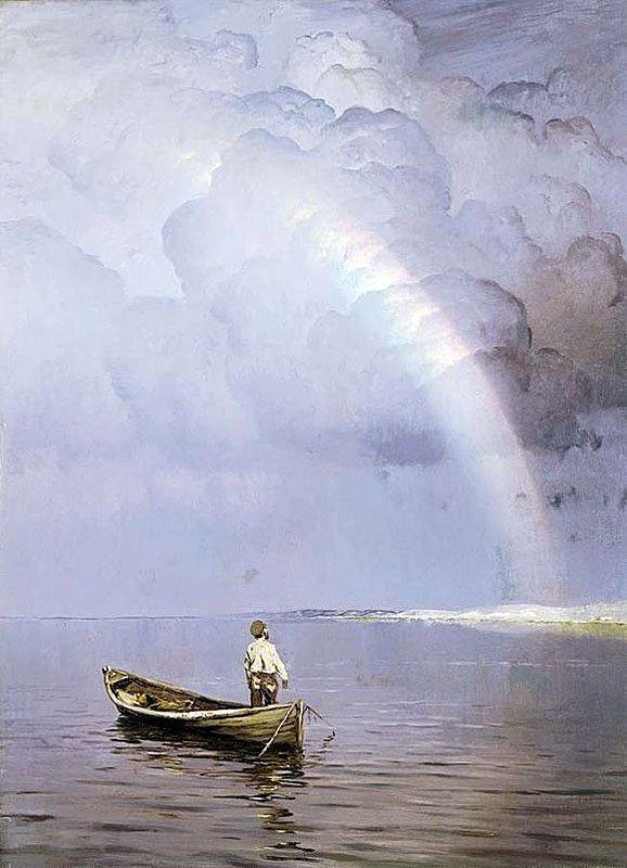 Картина Дубовского Радуга
