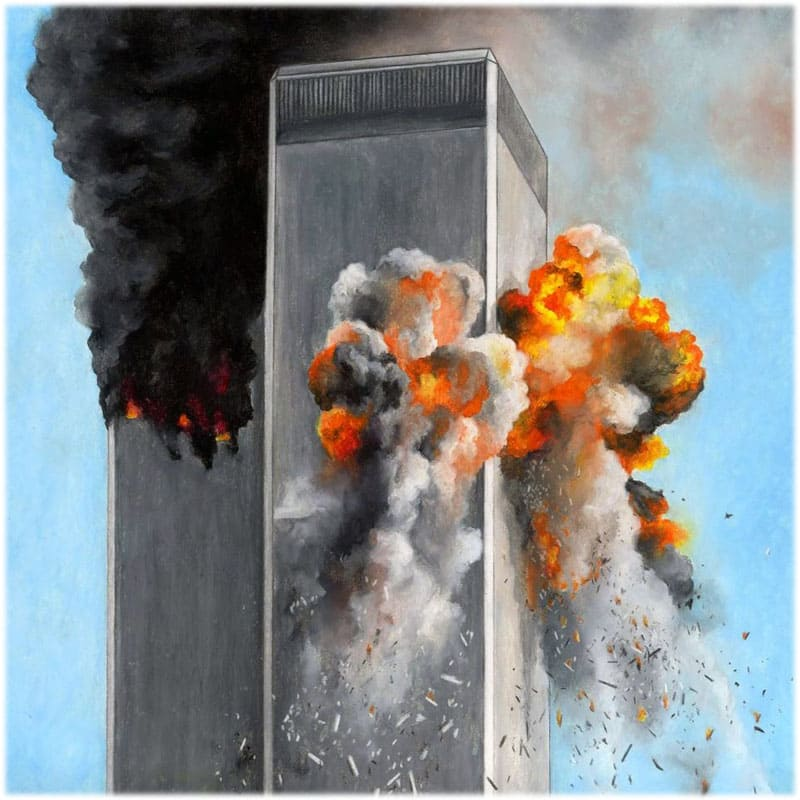 Терроризм: взрыв башен близнецов