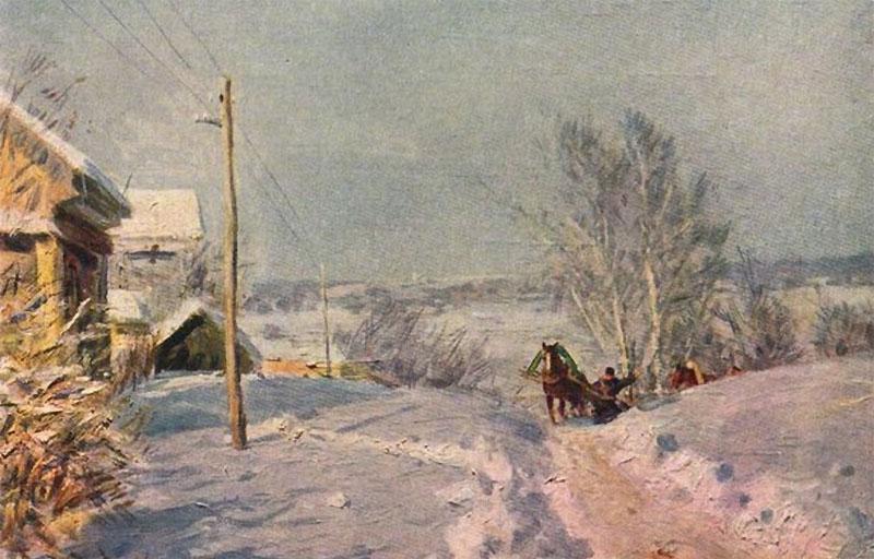 Сочинение по картине Мороз и солнце