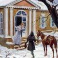 Дубровский и Маша
