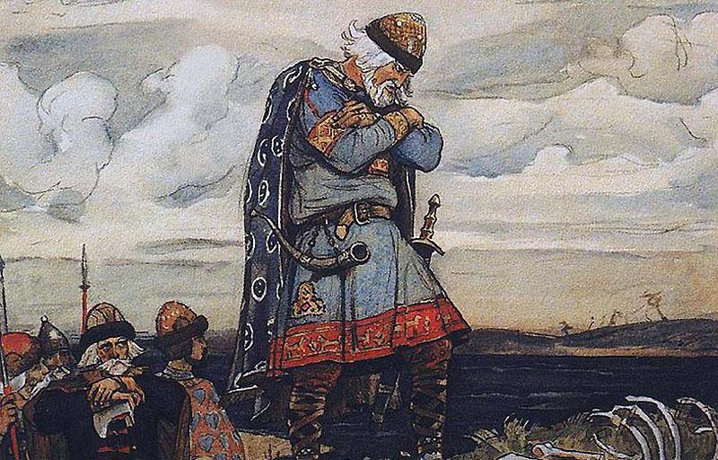 А.С. Пушкин. Песнь о вещем Олеге