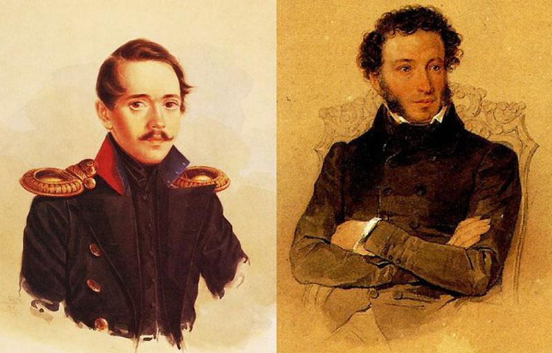 Пушкин и Лермонтов сходства и различия