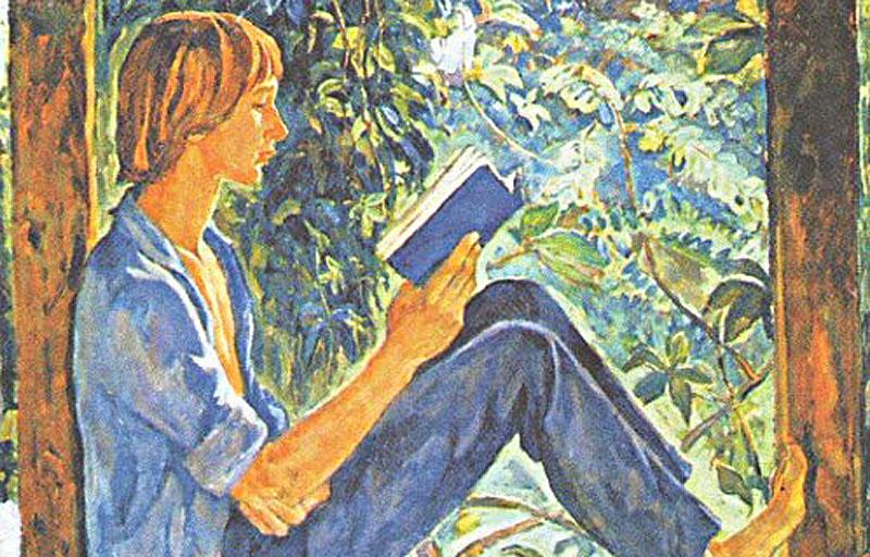 Сочинение по картине И. Шевандровой «На террасе»