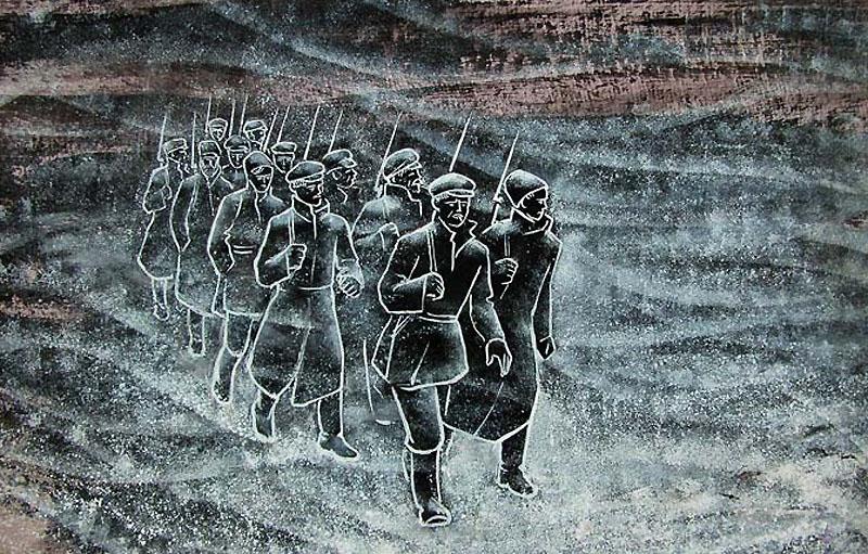 Образ красноармейцев в поэме Блока Двенадцать