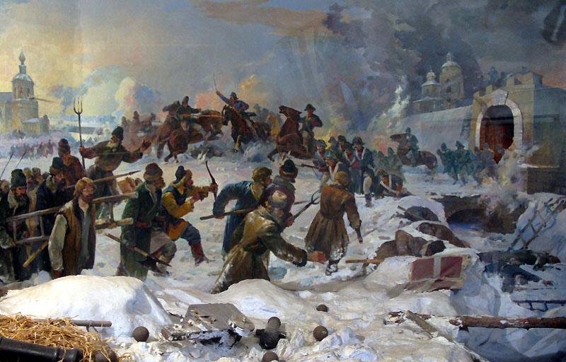 История России в произведениях Пушкина