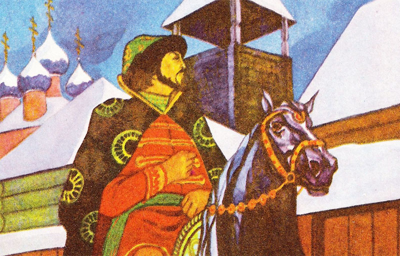 Образ опричника Кирибеевича в Песне про купца Калашникова