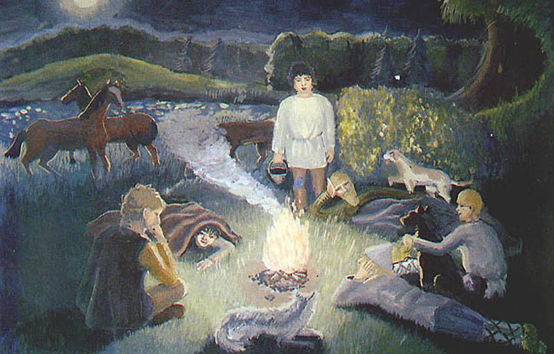 Крестьянские дети в рассказе Тургенева «Бежин луг»