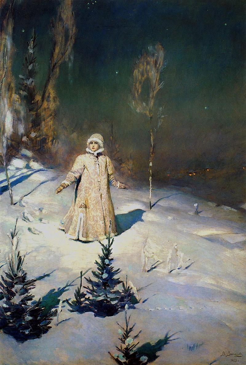 Сочинение по картине Снегурочка Васнецова