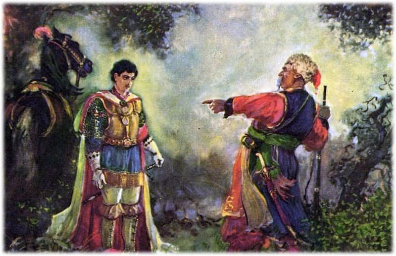 Тарас Бульба убивает сына