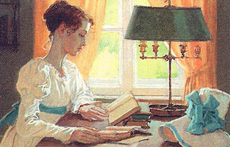 Татьяна - милый идеал Пушкина