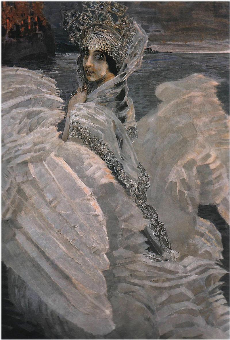 Врубель М.А. картина Царевна-Лебедь