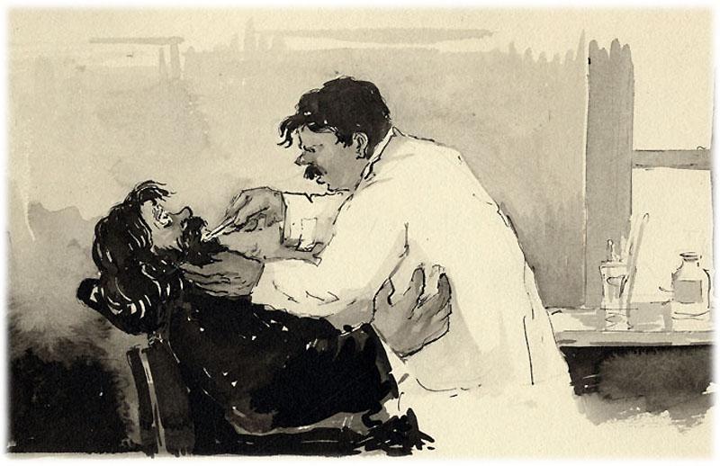 Произведение Чехова Хирургия