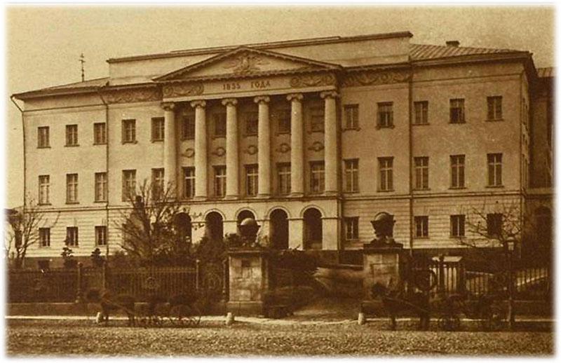 Учеба в Московском университете Лермонтова