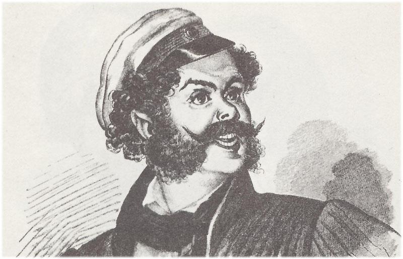 Образ помещика Ноздрева