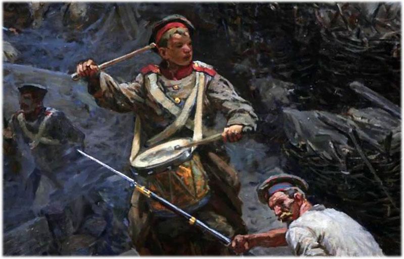 А. Н. Апухтин. Солдатская песня о Севастополе