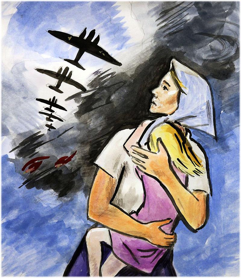 Дети войны сочинение