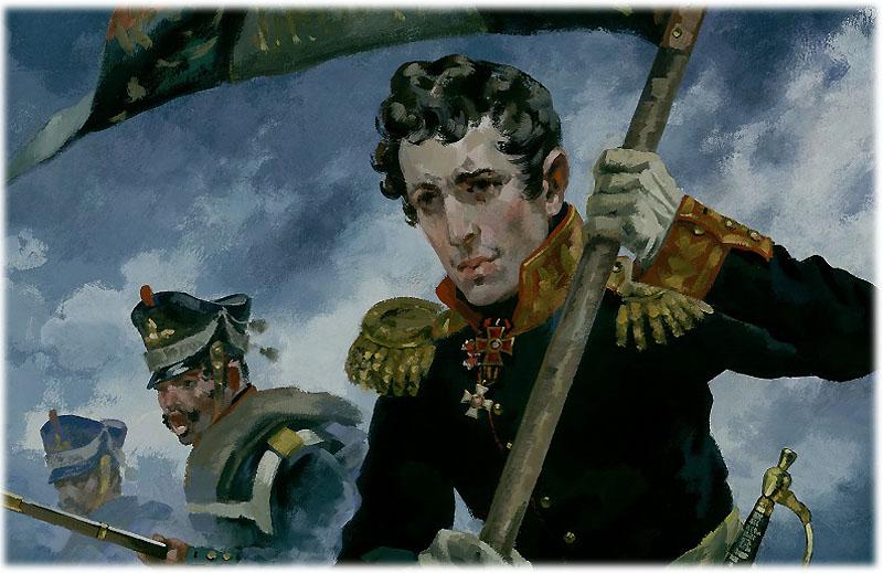 Князь Андрей накануне Бородинского сражения