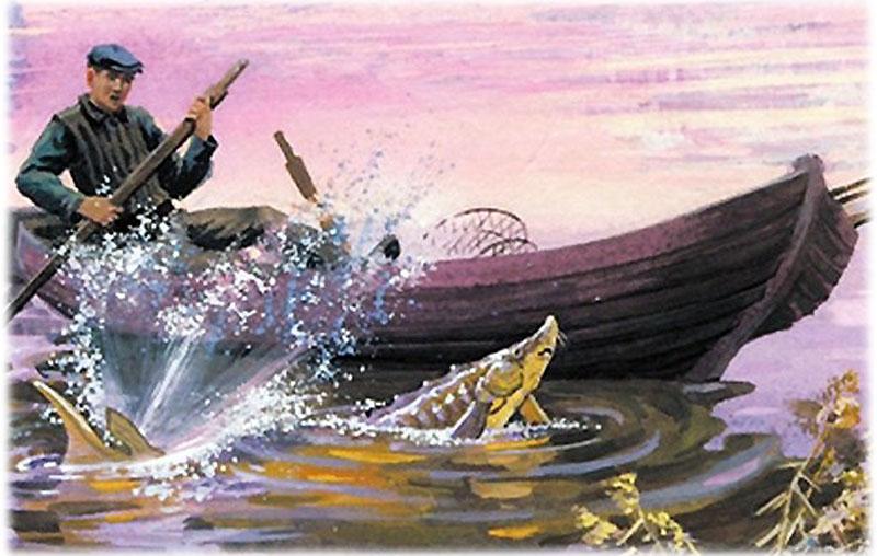 Астафьев, Царь-рыба
