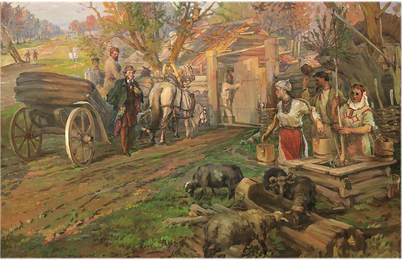 Пушкин Деревня