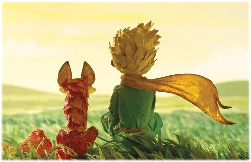 Дружба Маленького Принца и Лиса