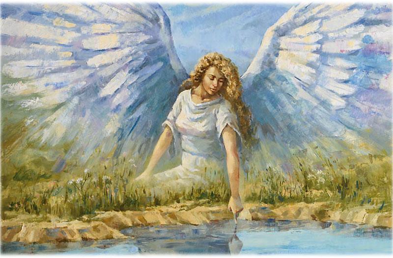 Лермонтов стихотворение Ангел