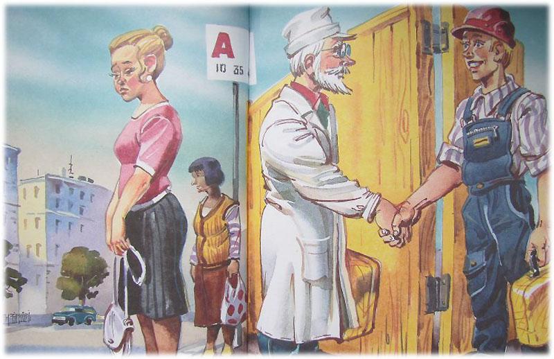 Доктор и верхолаз перепутали желтые чемоданчики