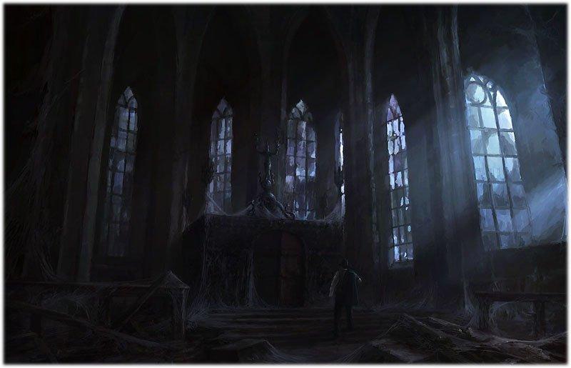 Блок: Вхожу я в темные храмы