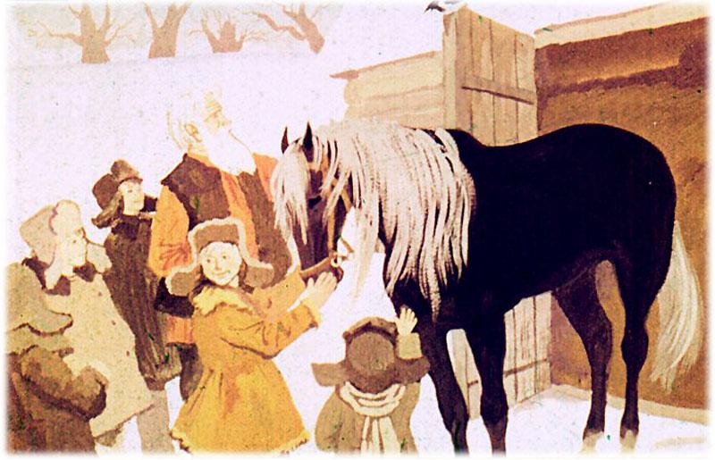 О лошади заботился мельник Панкрат