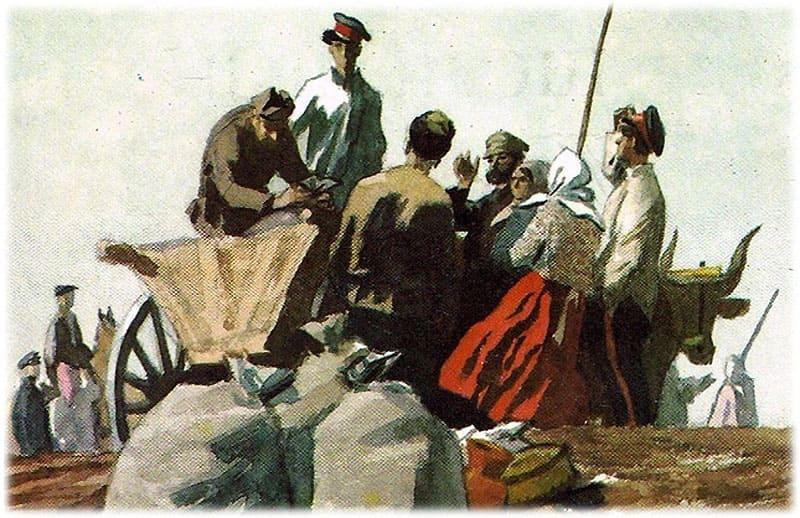 Тихий Дон: казаки занимаются хозяйством