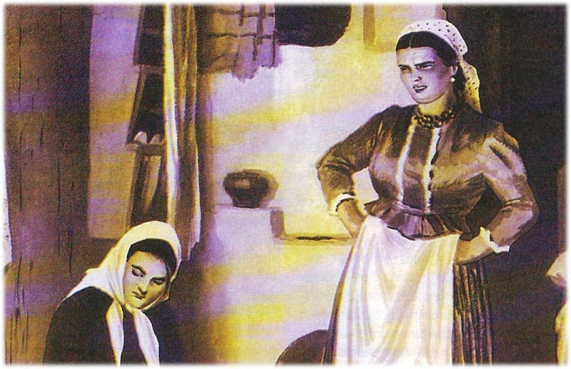 Тихий Дон: разговор Аксиньи и Натальи