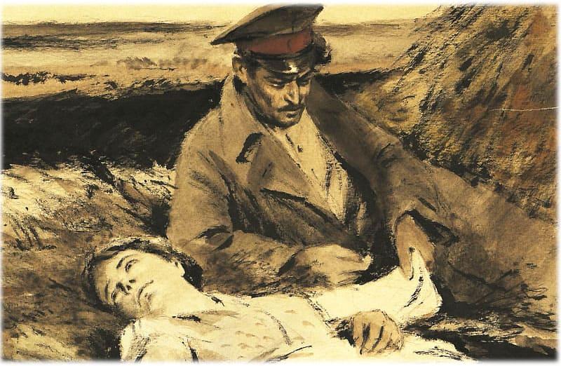 Тихий Дон: Аксинья умирает на руках у Григория