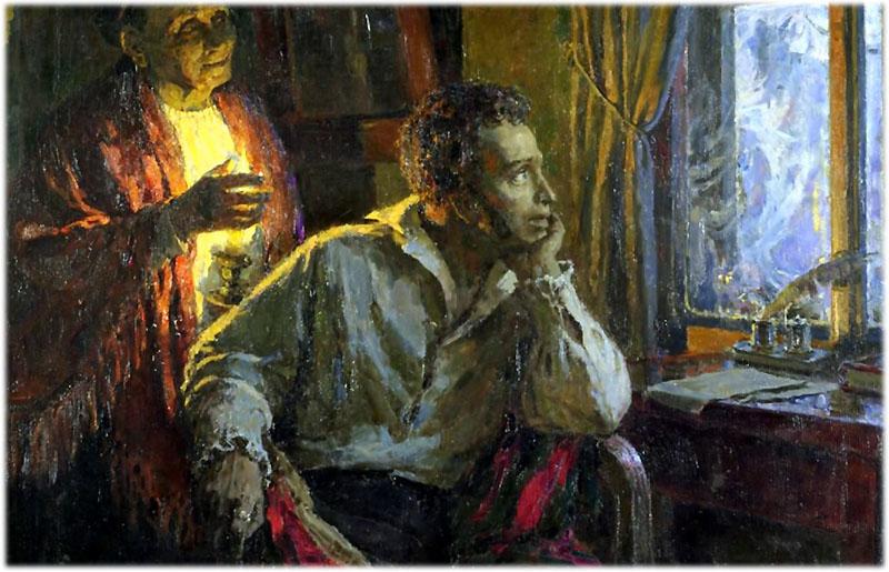 Зимний вечер Пушкин