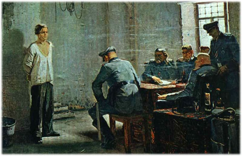 Пытки пленных