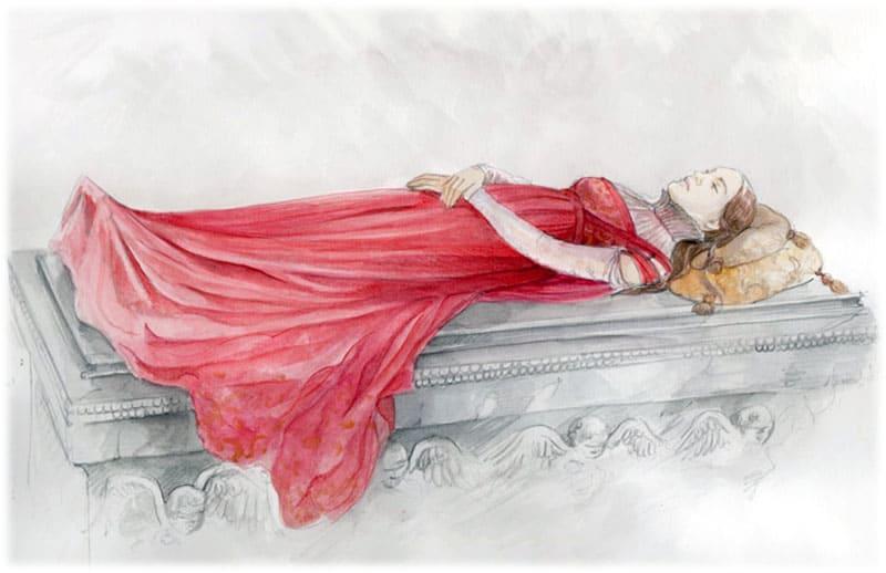 Джульетту решают похоронить в склепе