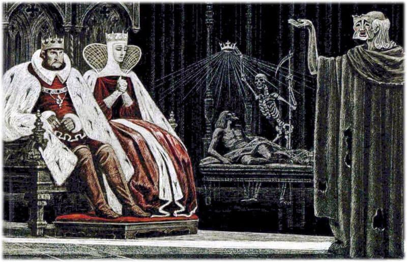 Гамлет: сцена Убийство Гонзаго