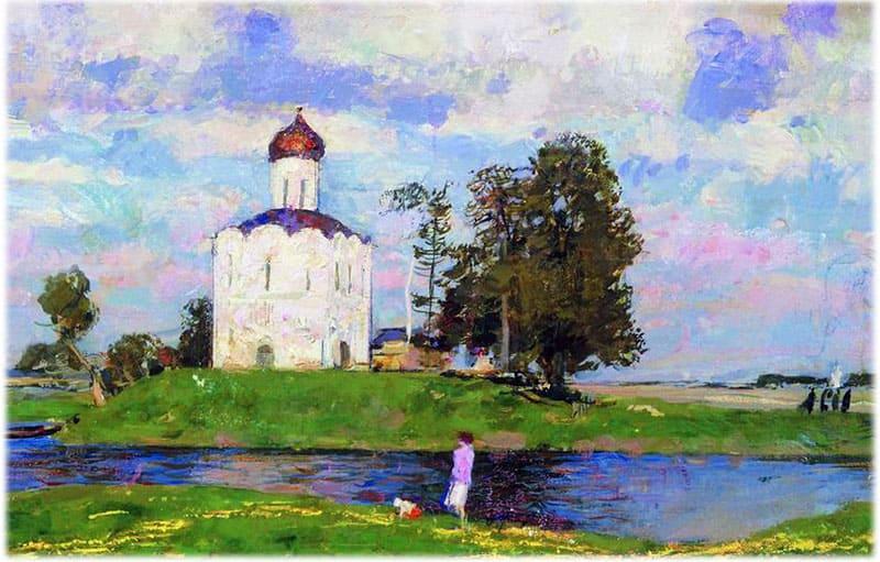Церковь Покрова на Нерли Герасимов