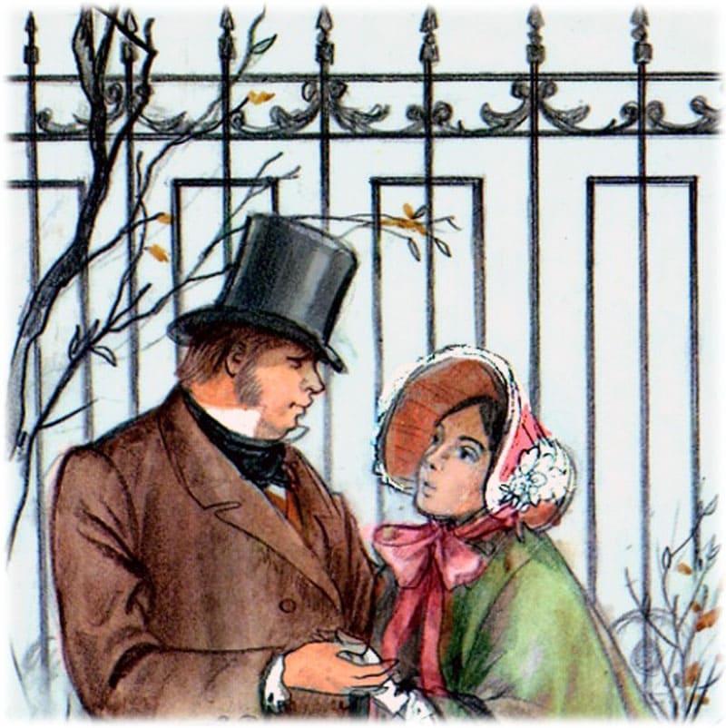 Обломов и Ольга во второй части романа