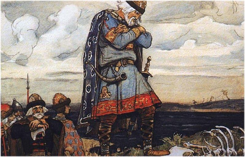 Образ князя Олега