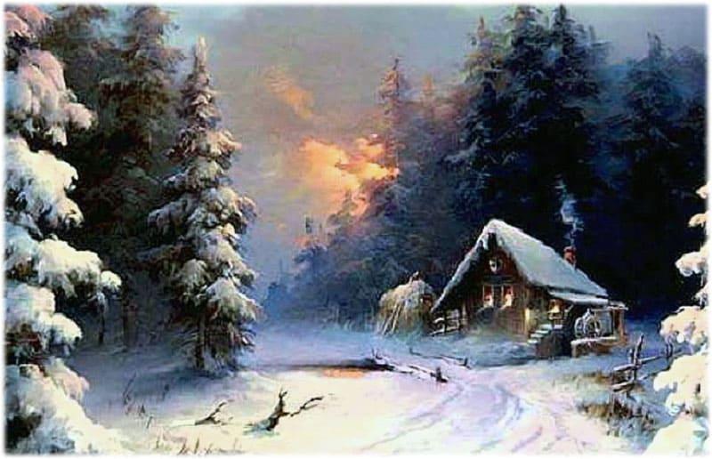 Зимняя песня Рубцов