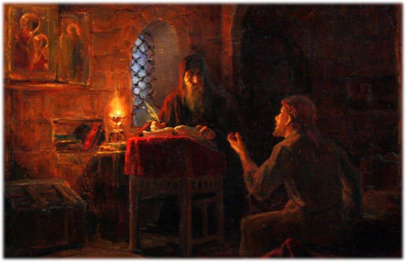 Ночь Келья в Чудовом монастыре